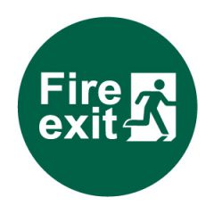 First Aid & Fire Exit Signs